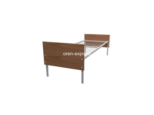 Качественные кровати металлические для хостелов, больниц - 1