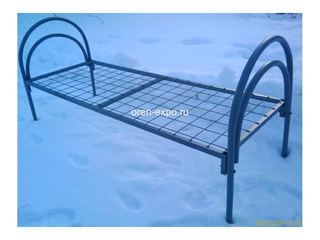 Качественные кровати металлические для хостелов, больниц - 3