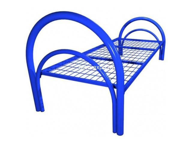 Качественные кровати металлические для хостелов, больниц - 4