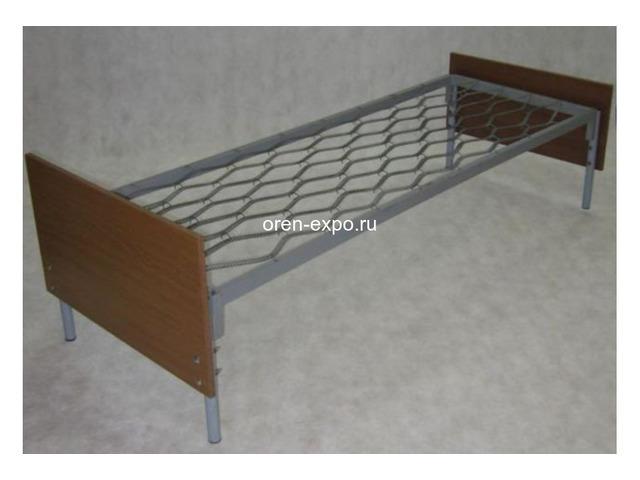 Прочные одноярусные кровати для строительных вагончиков, бытовок - 4