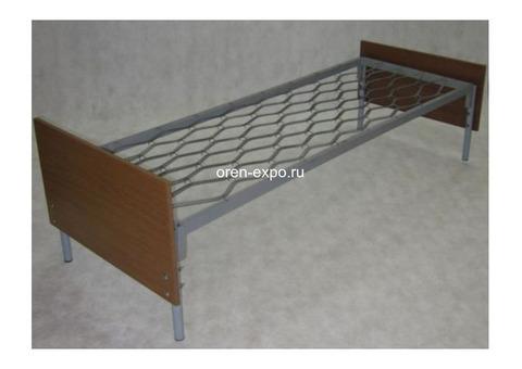 Прочные одноярусные кровати для строительных вагончиков, бытовок
