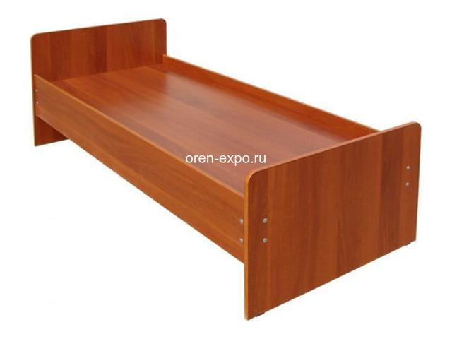 Кровати металлические двухъярусные, железные кровати от производителя - 2