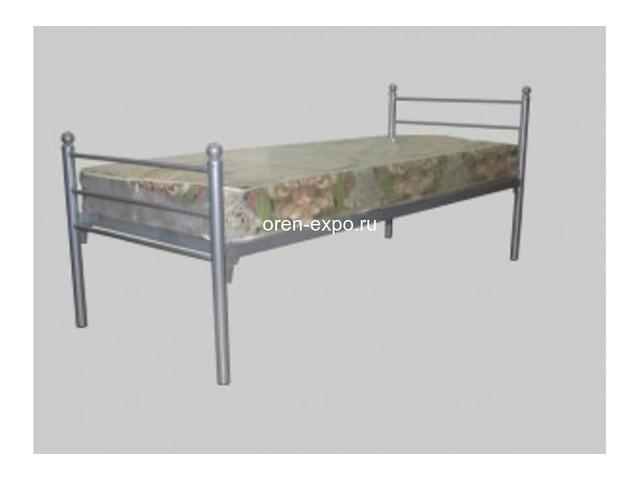 Кровати металлические двухъярусные, железные кровати от производителя - 3