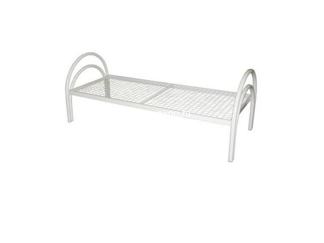 Кровати металлические двухъярусные, железные кровати от производителя - 4