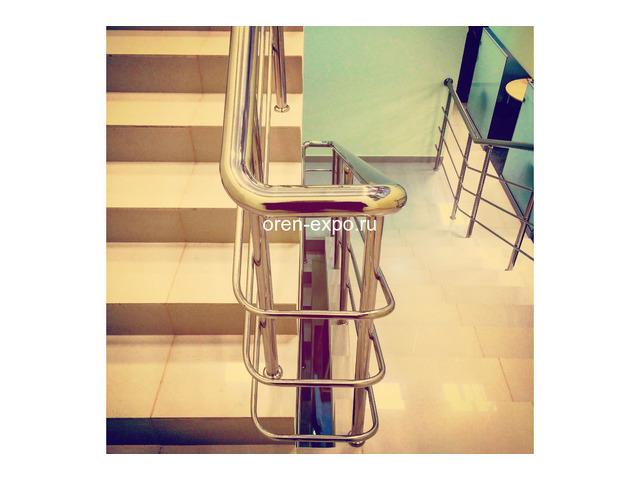 Перила из нержавейки (лестничные ограждения) - 1