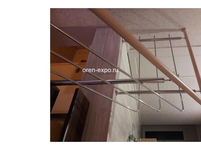 Перила из нержавейки (лестничные ограждения) - 2