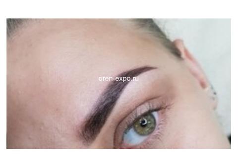 Перманентный макияж.Наращивание ресниц