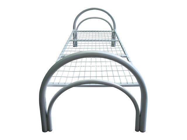 Металлические кровати для гостиниц, одноярусные, двухъярусные - 1