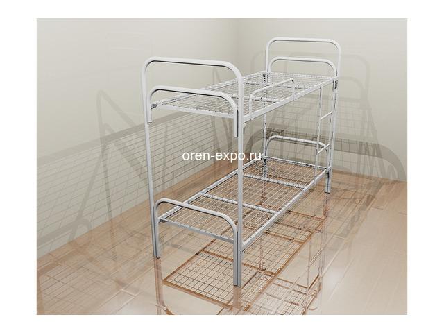 Металлические кровати для гостиниц, одноярусные, двухъярусные - 4