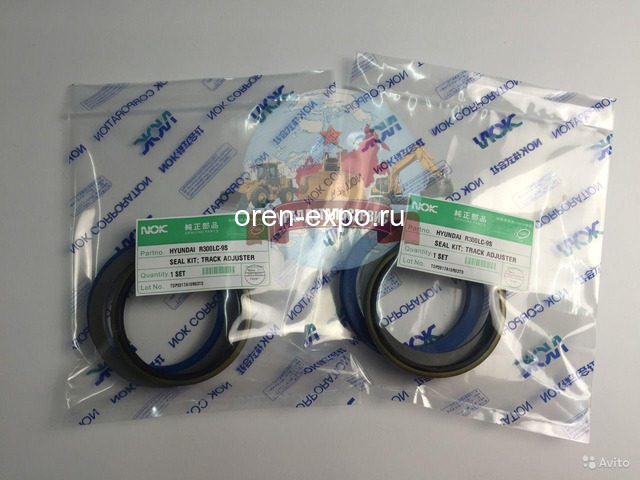 Ремкомплект г/ц натяжителя Hyundai R300LC-9S - 1