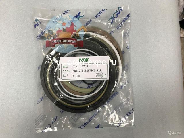 Ремкомплект г/ц рукояти 31Y1-18250 на Hyundai R250LC-7 NOK - 1