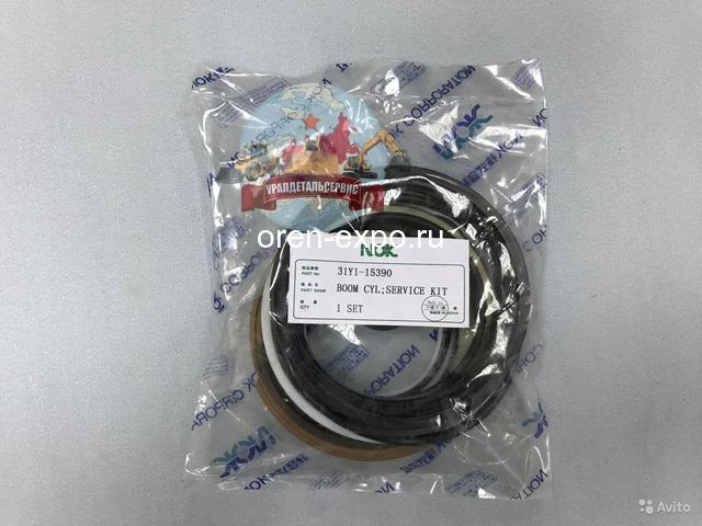 Ремкомплект г/ц стрелы 31Y1-15390 на Hyundai R290LC-7 NOK - 1