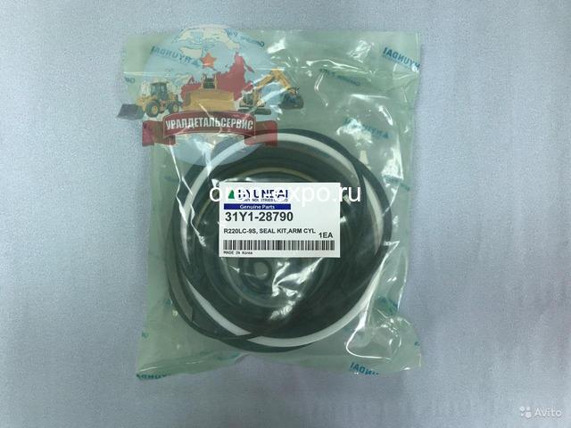 Ремкомплект г/ц рукояти 31Y1-28790 на Hyundai R220LC-9S - 1