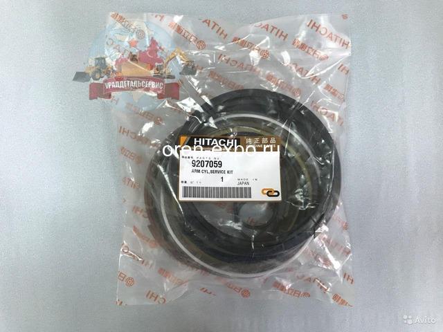 Ремкомплект гидроцилиндра рукояти 9207059 на Hitachi ZX230 - 1