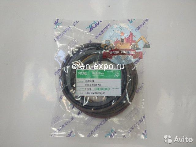 Ремкомплект гидроцилиндра стрелы 4686321 Hitachi ZX330-3G NOK - 1