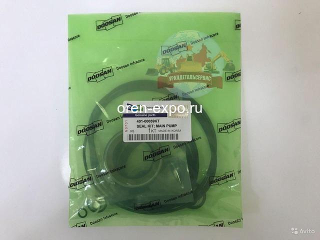 Ремкомплект уплотнений основного насоса Doosan 401-00059KT (401107-01037) - 1