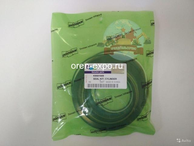 Ремкомплект г/ц ковша K9001009 (401107-00339A) Doosan DX300LC, DX300LCA - 1