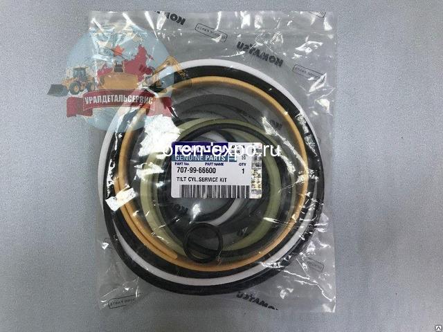 Ремкомплект г/ц перекоса отвала Komatsu D275A-5 707-99-66600 - 1