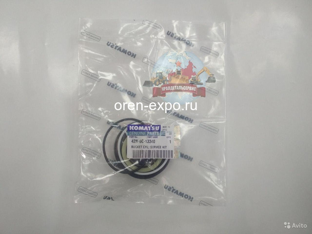 Ремкомплект г/ц челюсти ковша Komatsu 42N-6C-13340 - 1