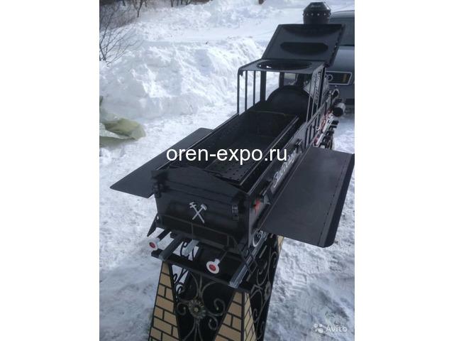Мангал-паровоз - 3