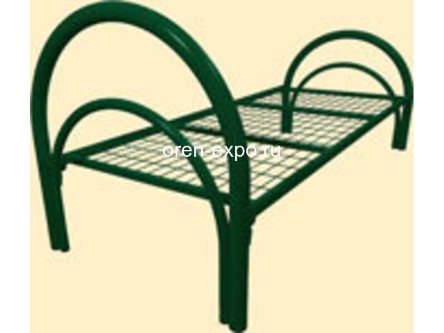 Кровати металлические для учебных заведений - 1