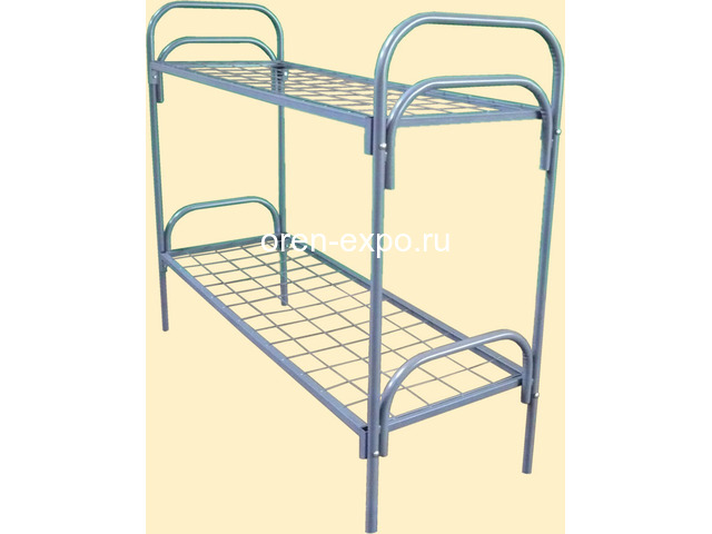 Кровати металлические для учебных заведений - 2