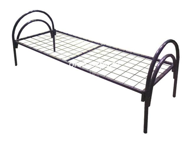 Двухъярусные металлические кровати для дачи - 1