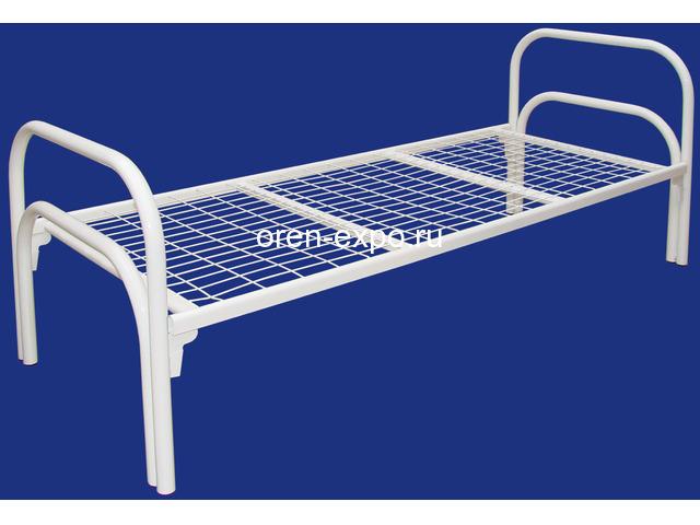 Двухъярусные металлические кровати для дачи - 2