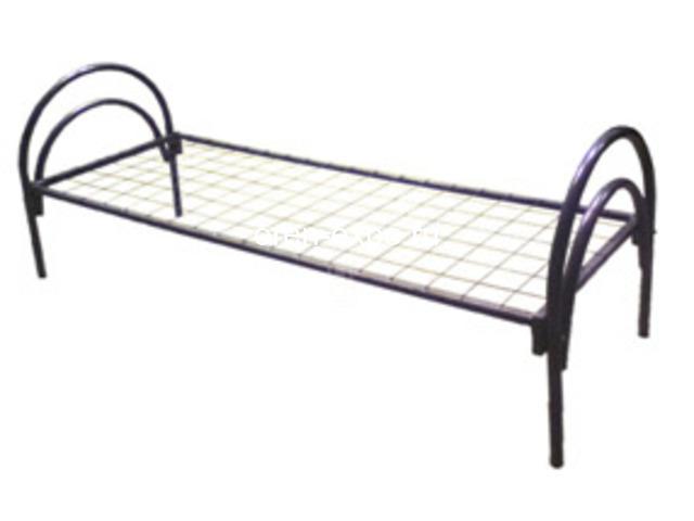 Двухъярусные металлические кровати для дачи - 3