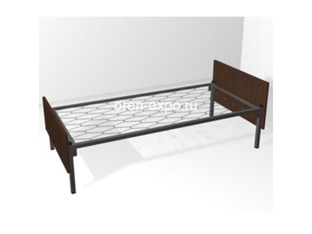 Двухъярусные металлические кровати для дачи - 4