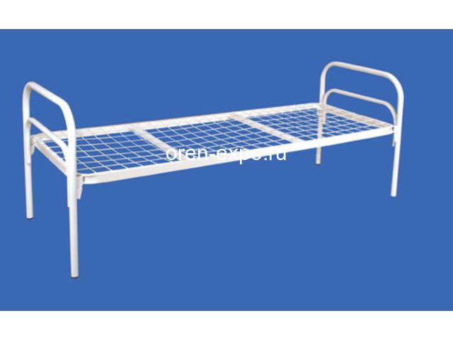 Кровати металлические для детских лагерей с доставкой - 4