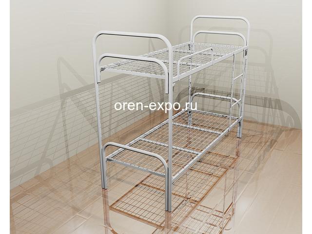 Кровати металлические для детских лагерей с доставкой - 5