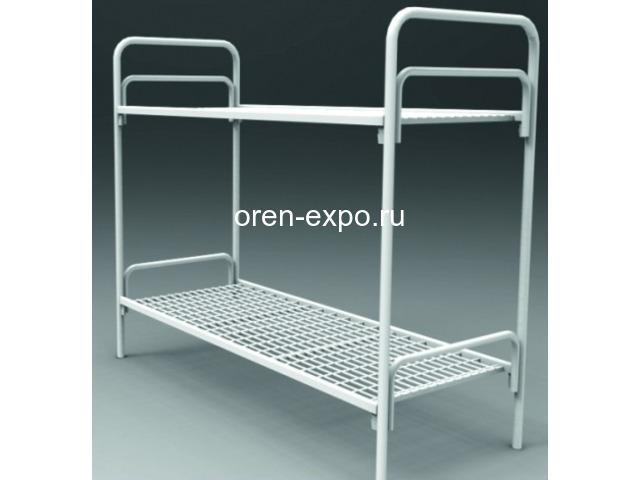 Кровати металлические для детских лагерей с доставкой - 6