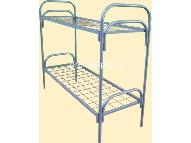 Кровати металлические прочные, дешево - 1