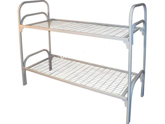 Кровати металлические прочные, дешево - 2