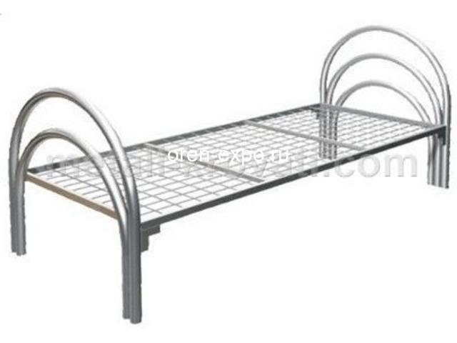 Кровати металлические прочные, дешево - 4