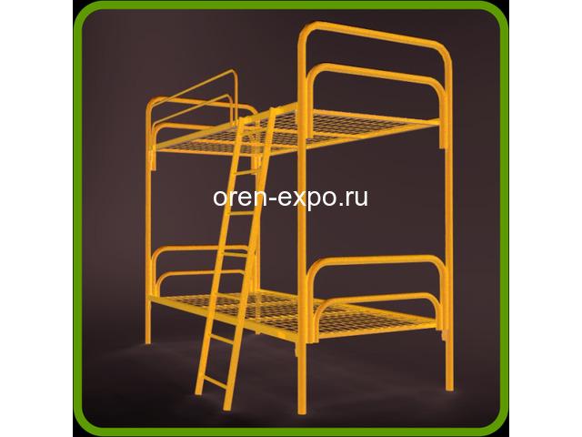 Высокопрочные кровати металлические для домов отдыха - 1