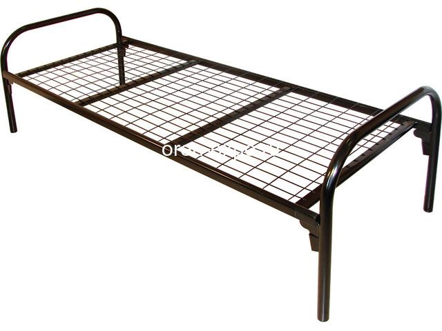 Высокопрочные кровати металлические для домов отдыха - 2