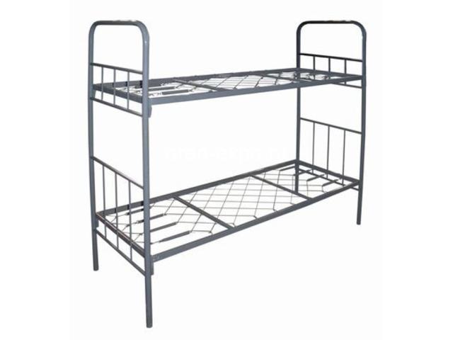 Высокопрочные кровати металлические для домов отдыха - 3