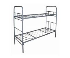 Высокопрочные кровати металлические для домов отдыха - Изображение 3