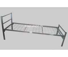 Высокопрочные кровати металлические для домов отдыха - Изображение 4