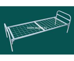 Одноярусные кровати металлические эконом класса - Изображение 1
