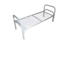 Одноярусные кровати металлические эконом класса - Изображение 4