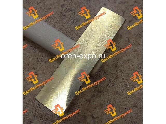 Молоток латунный 025кг 0.5кг 0.8кг 1кг 1.5кг 1,8кг  2кг деревянной ручкой - 1