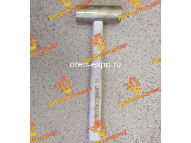 Молоток латунный 025кг 0.5кг 0.8кг 1кг 1.5кг 1,8кг  2кг деревянной ручкой - 2