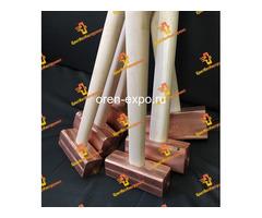 Молоток медный искробезопасный 025кг 0.5кг 0.8кг 1кг 1.5кг 8кг 2кг деревянной ручкой - Изображение 1