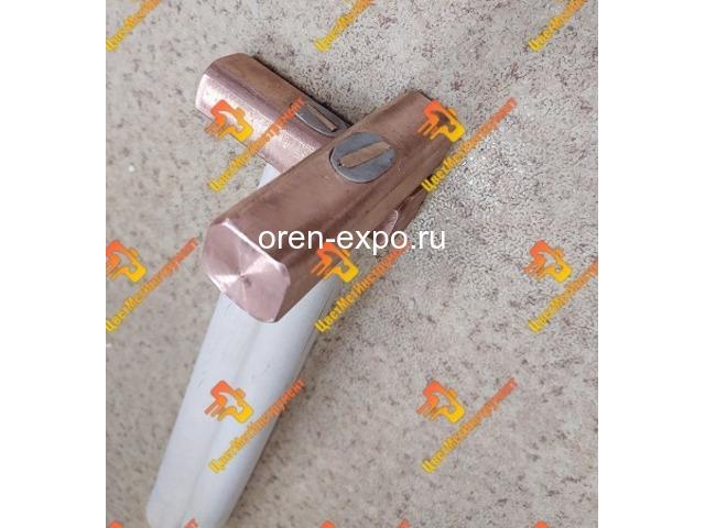 Молоток медный искробезопасный 025кг 0.5кг 0.8кг 1кг 1.5кг 8кг 2кг деревянной ручкой - 3