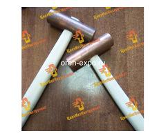 Молоток медный искробезопасный 025кг 0.5кг 0.8кг 1кг 1.5кг 8кг 2кг деревянной ручкой - Изображение 7