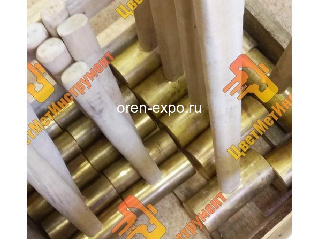 Кувалда бронзовая  2кг 3кг 4кг 5кг 6кг 7кг 8кг 10кг 12кг с деревянной ручкой - 2