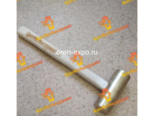 Кувалда бронзовая  2кг 3кг 4кг 5кг 6кг 7кг 8кг 10кг 12кг с деревянной ручкой - 4